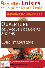 affiche infos famille